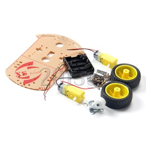2wd motor smart robot car chassis kit