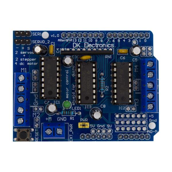 L293D Motor Driver Board